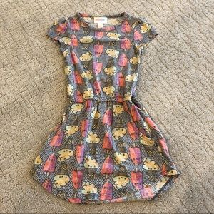 Lularoe Ice Cream and Popsicle Dress 2T